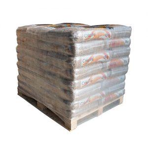 Palette de 72 sacs de granulé de bois 15Kg CREPITO